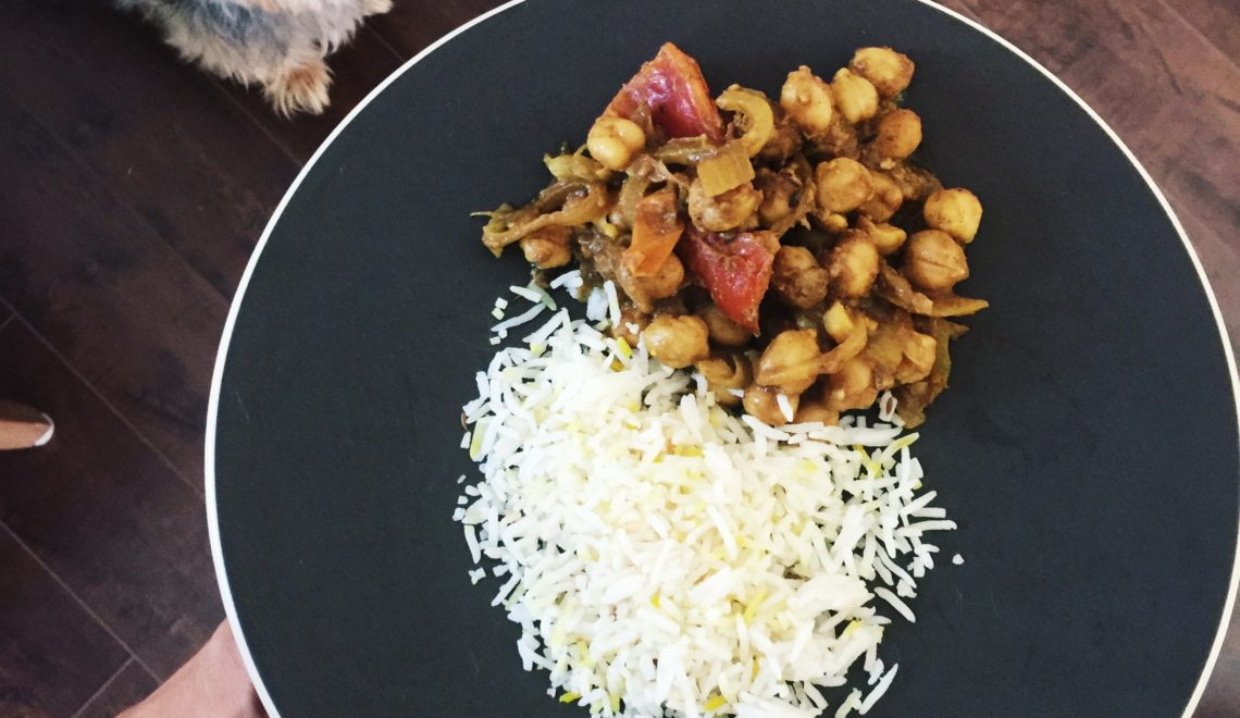 Simple Spicy Chickpea Recipe